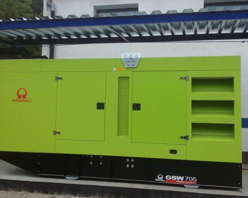 generator curent stationar
