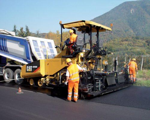 finisor asfalt