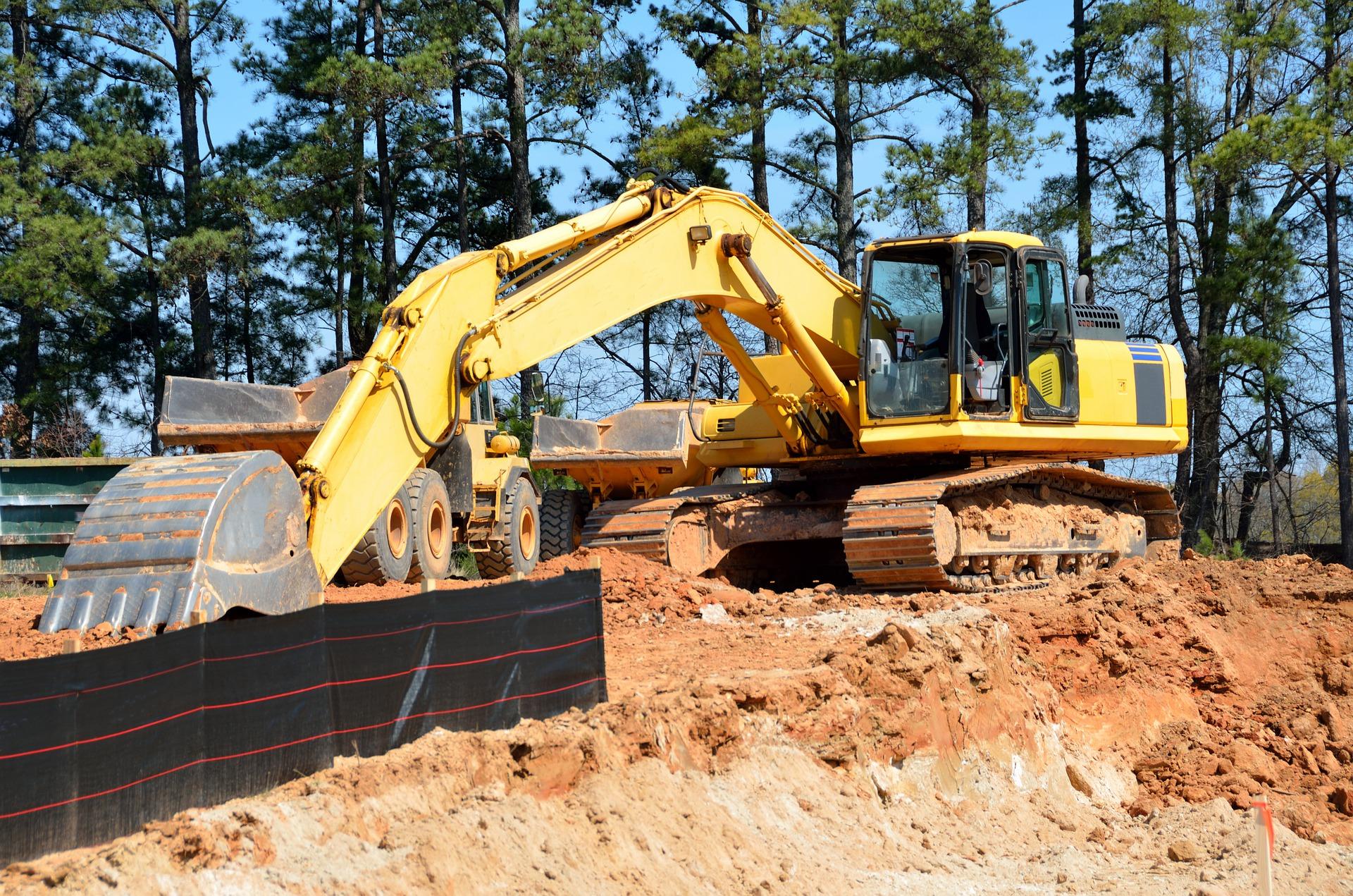 excavator senile