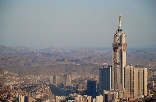 Mekkah Royal Clock Hotel Tower